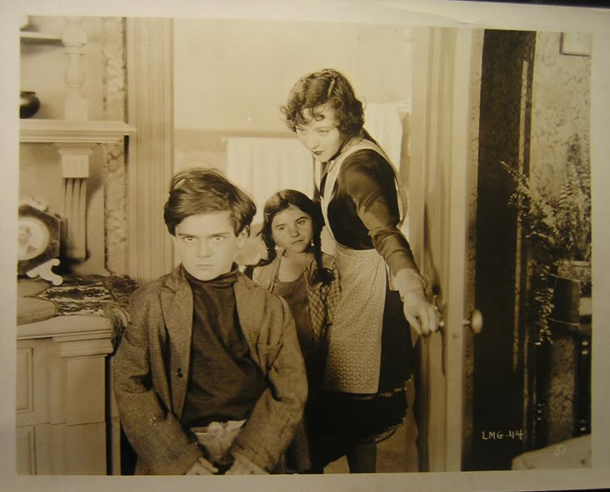From Little Mickey Grogan. L to R: Frankie Darro, Lassie Lou Ahern, Jobyna Ralston